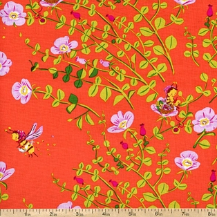 briar-rose-busy-bee-floral-cotton-fabric-red-7