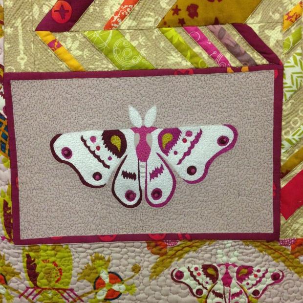 butterfly quilt crop